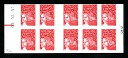 Carnet CAO -LUQUET RF (Salon)...) - SANS PHOSPHORE Avec RE Daté Du 03.05.04 - YT 3419-C8b - Markenheftchen