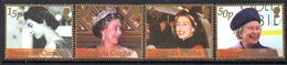 Tristan Da Cunha 2002 Royal Golden Jubilee Set Of 4, MNH, SG 740/3 - Tristan Da Cunha