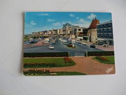 Postcard Postal France Seine Maritime Dieppe La Residence Les Tourelles Le Casino Et Le Boulevard De Verdun - Dieppe