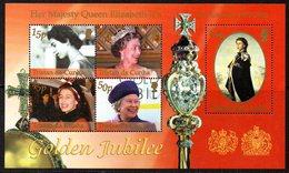 Tristan Da Cunha 2002 Royal Golden Jubilee MS, MNH, SG 744 - Tristan Da Cunha