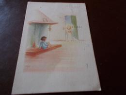 B623  Illustrazione Bambini Viaggiata - Bambini