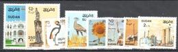 Sudan Lower Values From Good Set Mnh ** Birds Oiseau Flower - Sudan (1954-...)