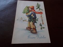 B623  Buon Natale Viaggiata Cm14x9 - Non Classificati
