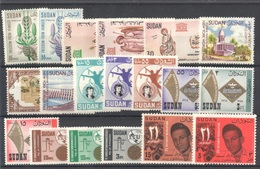Sudan Collection All Stamps Mnh ** - Sudan (1954-...)