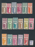 BELGIUM  COB TR304/320 IMPERFORATED MNH - 1942-1951