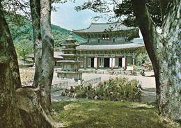 1 AK Südkorea * Geugrag-jeon Hall At  Muryang-sa Temple * - Korea (Süd)