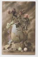AI90 Greetings - Easter - Basket, Eggs, Flowers - Easter