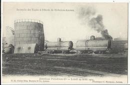 HOBOKEN -  Incendie Des Tanks à Pétrole De Hoboken-Anvers, American Petroleum C°, Lundi 29 Août 1904 - Antwerpen