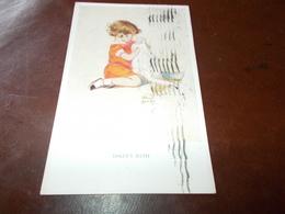 B623  Illustrazione Bambini Cm14x9 Viagg.dolly's Bath - Bambini