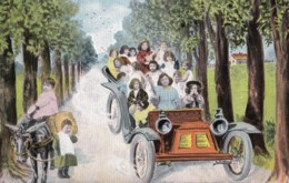 AL09  Children - Multiple Babies In A Car - Babies