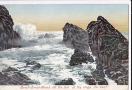 AP63 Waves Breaking On Rocks, Unknown Location - Postcards