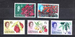 Gran Bretagna  -  1966. Buganville,  Cacao, Noce Moscata, Banane. Bougainvillea, Cocoa Pods, Nutmeg, Bananas. MNH - Frutta