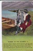 AP63 Bamforth Song Card - Roamin' In The Gloamin' - Postcards