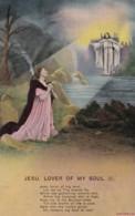 AP63 Bamforth Song Card - Complete Set, Jesu, Lover Of My Soul - Postcards