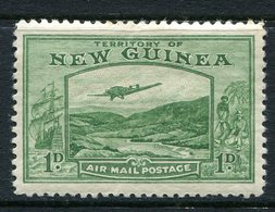 New Guinea 1939 Airmail - 1d Green LHM (SG 213) - Papua New Guinea