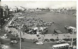 MARSEILLE     (   BOUCHES DU RHONE   )  PANORAMA SUR LE PORT . DANS LE FOND LE PHARO - Puerto Viejo (Vieux-Port), Saint Victor, Le Panier
