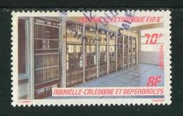 """TIMBRE Oblit. De 1985 """"8 F -  """"Central Electronique E10 B"""" - Nueva Caledonia"""