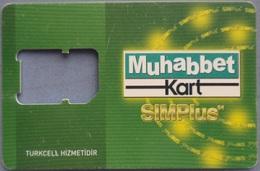 "Turkey- Muhabbet Kart SIMPlus - ""No Sim "" - Turquie"