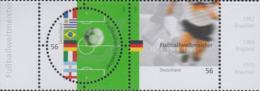 Germany 2002 FIFA World Cup Football 2 Vals. MNH/** (H57) - 2002 – South Korea / Japan