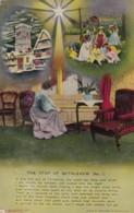 AP64 Bamforth Song Card - The Star Of Bethlehem, Set Of 3 Cards - Postcards