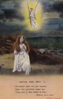 AP64 Bamforth Song Card - Watch And Pray (1) - Postcards