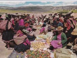 AP64 Escena Tipica De Mercado, Cusco, Peru - Market Scene - Peru