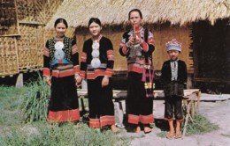 AP64 Lahu Women And Boy At Chiengmai Cultural Center, Thailand - Thailand