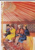 AP64 Mongolia, 4 Ladies In Traditional Costume - Mongolei