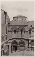 AQ50 Jerusalem, The Church Of The Holy Sepulchre - RPPC - Israel