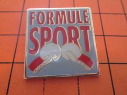 116c  PIN'S PINS / Rare Et De Belle Qualité ! / Thème : SPORTS / FORMULE SPORT GANTS DE BOXE - Boxe