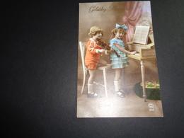 Enfants ( 2902 )  Enfant  Kinderen  Kind  Piano  Violon  Viool - Children