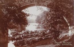 AR52 Devils Bridge, Kirby Longsdale - RPPC - Cumberland/ Westmorland