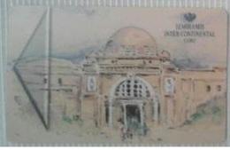 EGYPT - Hotel Key Card Semiramis Intercontinental Cairo - Cartas De Hotels