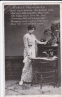 AS72 Glamour - Lady Standing By A Writing Desk - Sweet Memories - Women