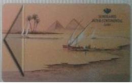 EGYPT - Hotel Key Card Semiramis Intercontinental Cairo - Hotelkarten