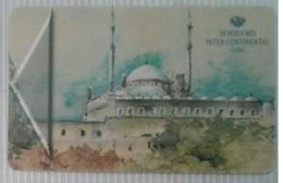 EGYPT - Hotel Key Card Semiramis Intercontinental Cairo - Chiavi Elettroniche Di Alberghi