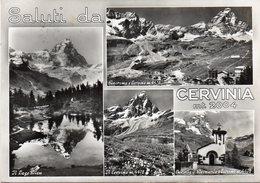 Valle D' Aosta - Saluti Da Cervinia - Fg Vg - Altre Città