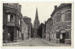 """OUDE-GOD (Mortsel) Kerk - Café """"A La Belle Vue"""" Peetermans-Sluyter - Mortsel"""