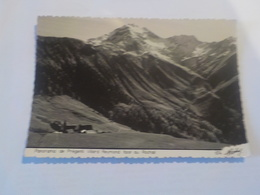 CPSM  PANORAMA DE PREGENTIL VILLARD REYMOND FACE AU ROCHAL   VOYAGEE TIMBREE 1953 - France