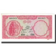 Billet, Cambodge, 5 Riels, KM:10c, TTB - Inde