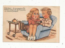 JC , Cp, Humour , Illustrateur , Dis Donc ....si On Gagne à La Loterie Nationale.... ,  écrite 1952  ,ed SP - Humor