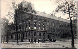 59 LILLE - Ecole Supérieur De Filles Et Le Boulevard Des écoles - Lille