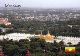1 AK Myanmar * Blick Auf Die Stadt Mandalay - Die Zweitgrößte Stadt In Myanmar * - Myanmar (Burma)