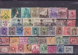EGYPTE  : Y&T :lot De 40 Timbres Oblitérés - Used Stamps