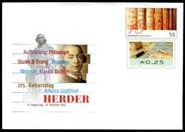 41391) BRD - USo ? - * Ungebraucht - 25 Unter 55C  Johann Gottfried Herder , Ausg.: 01.08.2019 - Briefomslagen - Ongebruikt