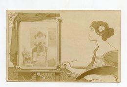Carte Photo Montage . Enfant Et Jouet Ancien . Poupée .  Postcard Photography . Child And Old Toy. Doll - Cafes