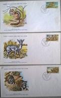 SWA FDC ANIMALI - Briefmarken