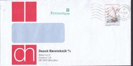 Denmark B-Economique DANSK HØRETEKNIK, Ølstykke MIDTSJÆLLANDS POSTCENTER 1996 Cover Brief Jolle Roskilde Fjord Boat - Danimarca