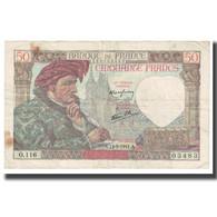 France, 50 Francs, Jacques Coeur, 1941, 1941-09-11, TB, Fayette:19.14, KM:93 - 1871-1952 Antichi Franchi Circolanti Nel XX Secolo