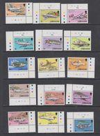 Gibraltar 1982 Airplanes / Definitives 15v  (corners) ** Mnh (43986) - Gibraltar